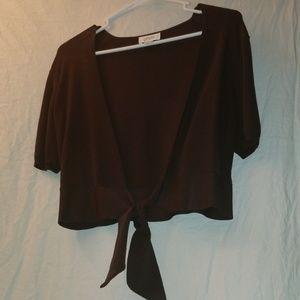 Dark brown sweater